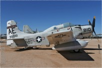 tn#10107-Skyraider-135018-USA - navy