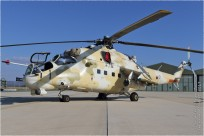 tn#10345 Mi-24 813 Chypre - air force