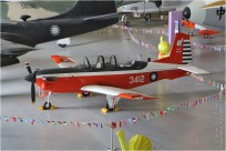 #11379 T-34 3412 Taiwan - air force