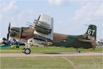 tn#11707 Skyraider 52-609 USA