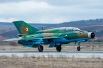 tn#11840-MiG-21-9536-Roumanie - air force