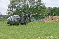 #2220 Alouette II A79 Belgique - air force