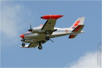 tn#2393-Cessna 310-981-France - air force