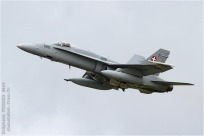 tn#2394 F-18 J-5020 Suisse - air force