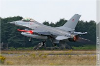tn#2849 F-16 E-608 Danemark - air force