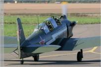 tn#2979-Yak-18-1 white-Belgique
