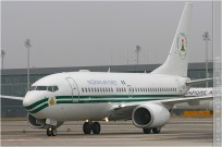 #3263 B737 5N-FGT Nigeria - air force