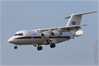 tn#3874-BAe146-ZE701-Royaume-Uni - air force
