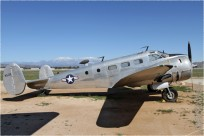 tn#4057-Beech 18-44588-USA - navy