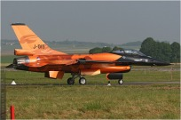 tn#4407 F-16 J-015 Pays-Bas - air force