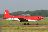 tn#4437 PC-7 A-913 Suisse - air force