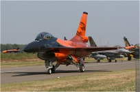 tn#4539 F-16 J-015 Pays-Bas - air force