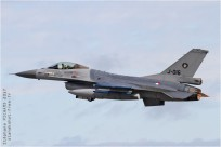 tn#5405-F-16-J-016-Pays-Bas - air force