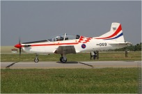 #5704 PC-9 069 Croatie - air force
