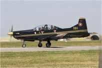 tn#5713 PC-9 664 Bulgarie - air force