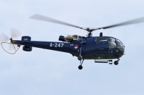tn#5932-Alouette III-A-247-Pays-Bas-air-force