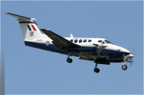 tn#5934-King Air-ZK452-Royaume-Uni-air-force