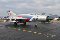 tn#6285 MiG-21 7801 Slovaquie - air force