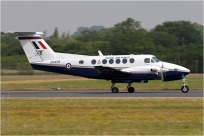 tn#7153 King Air ZK459 Royaume-Uni - air force