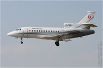 tn#7170-Falcon 900-T-785-Suisse - air force