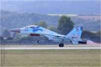 tn#7315-Su-27-69 Blue-Ukraine - air force