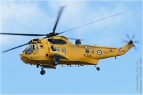 tn#7907 Sea King XZ592 Royaume-Uni - air force