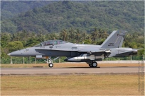 tn#8419-F-18-M45-07-Malaisie - air force