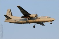 tn#8424 Fokker 50 713 Singapour - air force