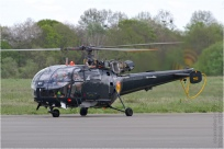 tn#8549 Alouette III M-1 Belgique - air force