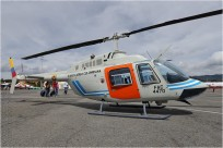 tn#8658-Bell 206-FAC4470-Colombie - air force