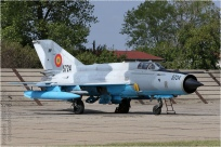 tn#8862 MiG-21 5724 Roumanie - air force