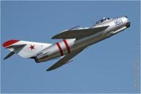 tn#9061-MiG-17-1611 blue-USA