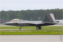 tn#9258 F-22 03-4041 USA - air force