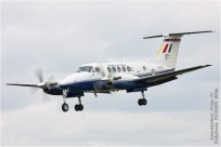 tn#9502-King Air-ZK451-Royaume-Uni-air-force