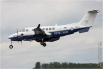 tn#9503 King Air ZZ502 Royaume-Uni - navy