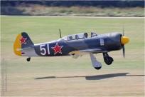 tn#9599-Yak-11-51 white-Allemagne