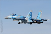 #9623 Su-27 45 Blue Ukraine - air force