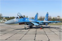 tn#9627-Su-27-57 Blue-Ukraine - air force