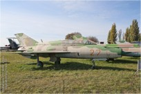 tn#9649 MiG-21 27 red Ukraine - air force