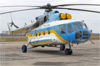 tn#9677-Mi-8-24 yellow-Ukraine-Ministere-des-Urgences