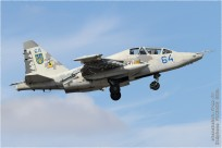 #9697 Su-25 64 blue Ukraine - air force