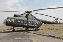 tn#9834-Mi-8-1810-Mexique - air force