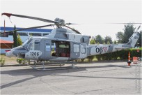 tn#9862 Bell 412 1206 Mexique - air force