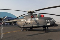 tn#9933 Mi-8 PF-202 Mexique - police
