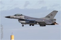 tn#9952 F-16 J-015 Pays-Bas - air force